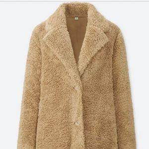Uniqlo Teddy Bear Coat